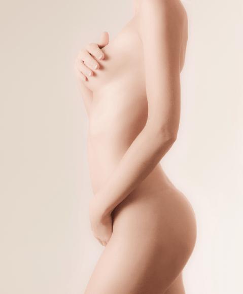 Frau mit Vaginismus